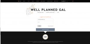 Well Planned Gal Single Sign On