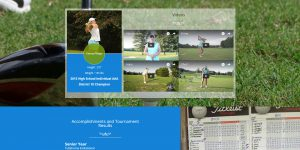 Golf scholarship website